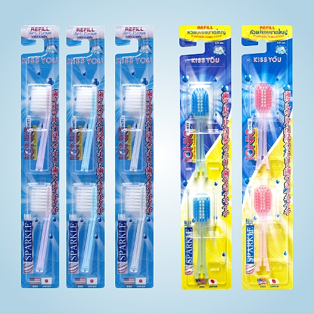 Sparkle Ionic Toothbrush  หัวแปรงสีฟัน Sparkle IonicSparkle  Ionic toothbrush  (Refill) แปรงสีฟันสปา