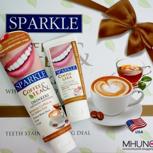 Sparkle Coffee&Tea Drinkers' Whitening Toothpaste